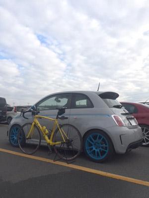 アバルト 自転車 ツーリング
