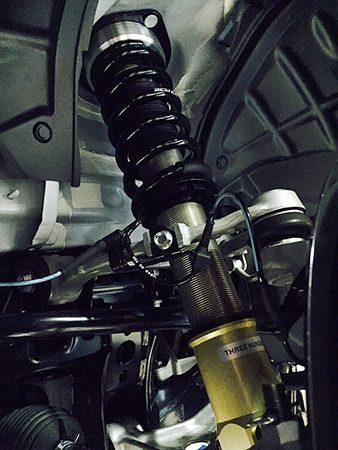 ABARTH 124 SPIDER 車高調
