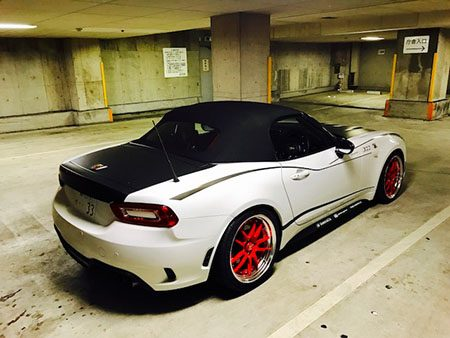 ABARTH 124 SPIDER THREEHUNDRED
