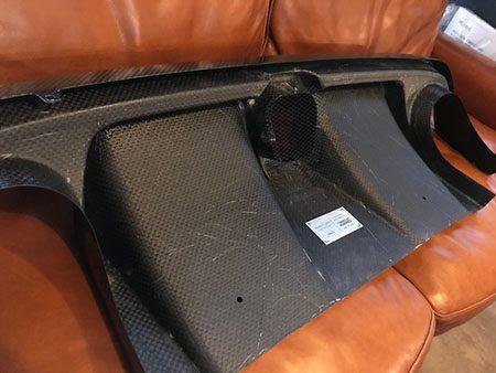 595 カーボンディフューザ- アバルト シリーズ4